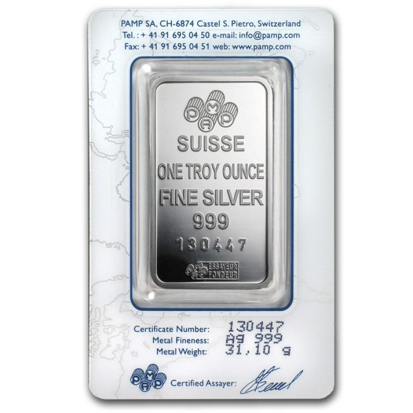 1 oz Silver Pamp Suisse2