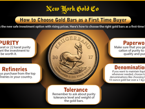 How to Choose Gold Bars as a First Time Buyer?
