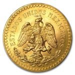 Estados unidos mexicanos gold coin