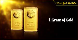 1 gram of gold