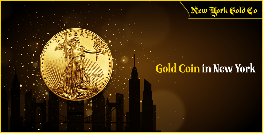 Gold Coin in New York