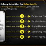 1 Oz Pamp Suisse Silver Bar Online