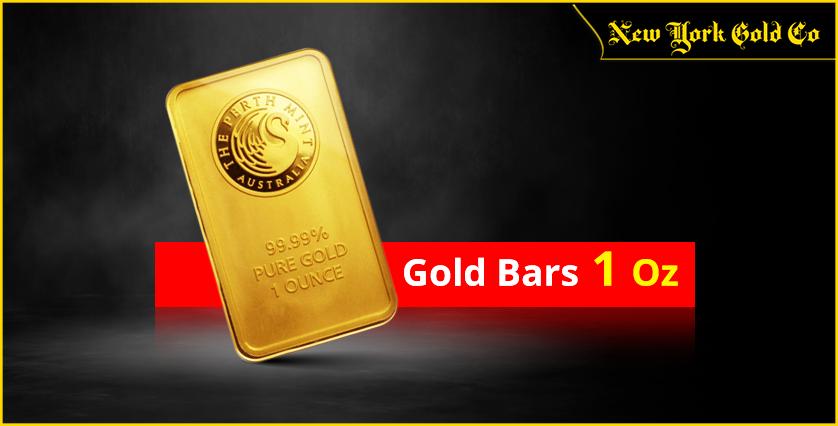 Gold Bars 1 Oz  03