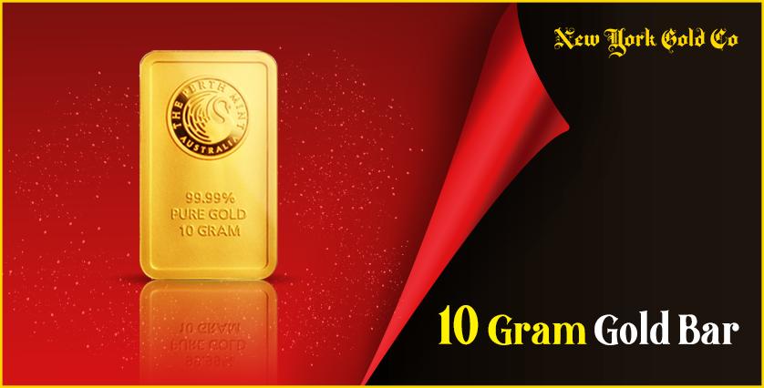 10 Gram Gold Bar new
