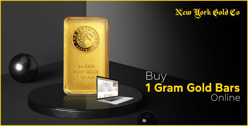 Buy 1 Gram Gold Bars Online New