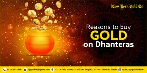 Buy gold on Dhanteras