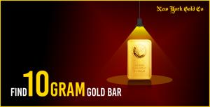 Find 10 Gram Gold Bar 1