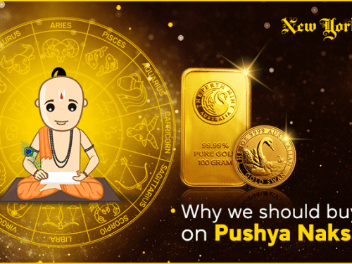Why We Should Buy Gold on Pushya Nakshatra