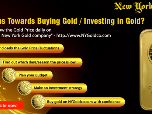 Five steps Towards Buying Gold / Investing in Gold?