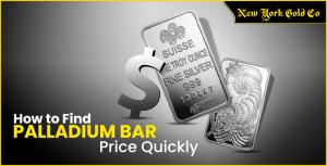 Find Palladium Bar Price