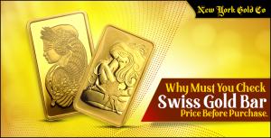 Swiss Gold Bar Price