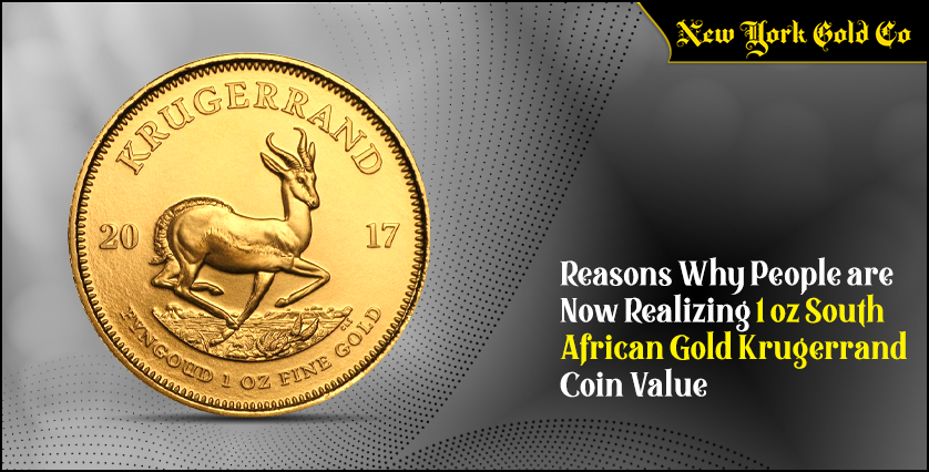Reasons Why People are Now Realizing 1 oz South African Gold Krugerrand Coin Value
