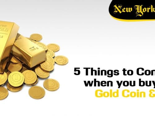 5 Things to Consider when you buy USA gold Coin and Bars
