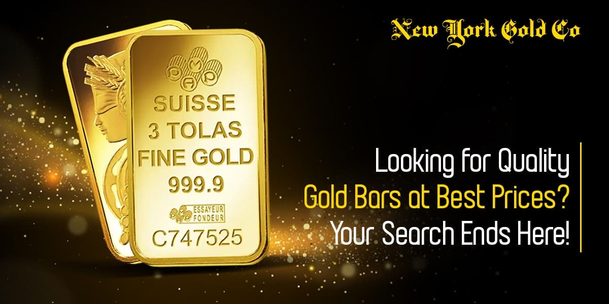 Looking for Quality Gold Bars at Best Prices? Your Search Ends Here!