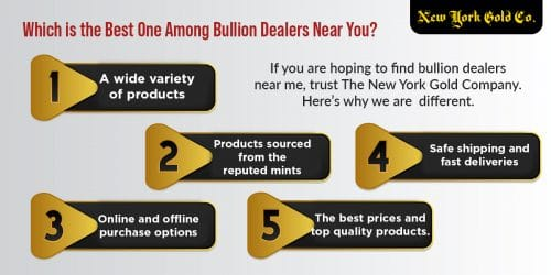 Which is the Best One Among Bullion Dealers Near You?