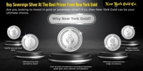 Buy Sovereign Silver At The Best Prices From New York Gold